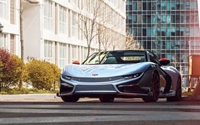 Picture Concept, Spyder, electric car, 2019, Qiantu, K50