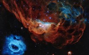 Picture stars, nebula, nebula