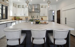 Picture photo, Design, Table, Kitchen, Interior, Chairs
