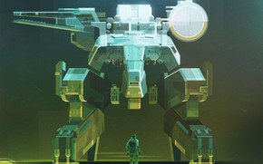 Picture Style, Art, Art, Style, Metal Gear, Digital, Illustration, Minimalism, Videogames, James Gilleard, by James Gilleard, …