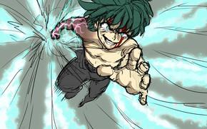 Picture art, My Hero Academia, Boku No Hero Academy, Midori Isuku, My Hero Academy