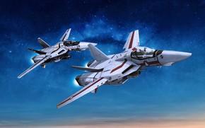 Picture aircraft, Macross, Robotech
