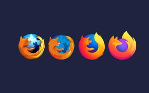 Picture minimalism, logo, Mozilla, browser, evolution, Mozilla Firefox, Firefox