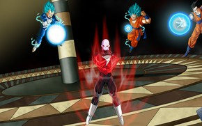 Picture power, sphere, guys, Dragon Ball, Dragonball