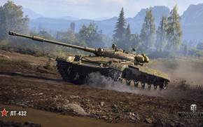 Picture WoT, World of Tanks, Wargaming, LT-432
