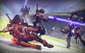 Picture weapons, war, armor, Destiny 2, Destiny 2: Shadowkeep