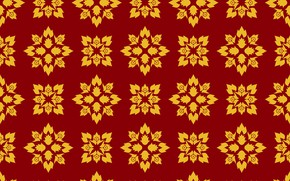 Picture background, pattern, texture, golden, ornament, style, pattern, Retro, Ornament