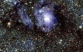 Picture Nebulae, Space, Nebula, Messier 8, The Lagoon Nebula