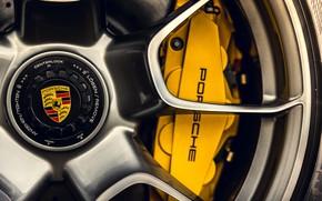 Picture Porsche, Disk, Wheel, 911 Turbo S, Nut, Суппорт