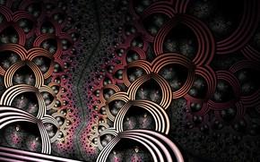 Picture background, pattern, dark
