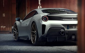 Picture grey, Ferrari, feed, Novitec, 488, Pista, 2019
