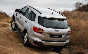 Picture Ford, rear view, Everest, 4WD, 2015, XLS