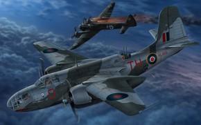 Picture Douglas, RAF, night fighter, torpedo, Havoc, A-20, Royal air force UK, DB-7B, Boston Mk III, ...