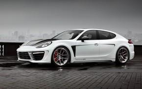 Picture Ball Wed, Porsche Panamera, Gran Turismo, five-door sporty fastback, Stingray GTR