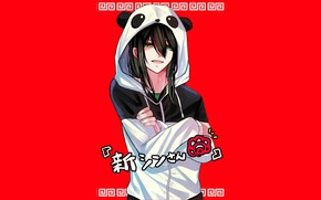 Picture Panda, guy, sweatshirt, Fate - Apocrypha, Fate Apocrypha, Shinjuku Assassin