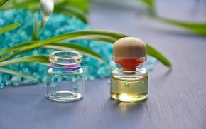 Picture oil, Spa, sea salt