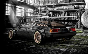 Picture Auto, BMW, Machine, Rendering, Concept Art, BMW M1, Benoit Fraylon, by Benoit Fraylon, GERMAN KNIGHT …