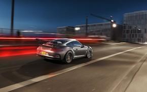 Picture Auto, Road, Night, Porsche, Machine, Speed, Movement, GT3 RS, Transport & Vehicles, by Damian Bilinski, …
