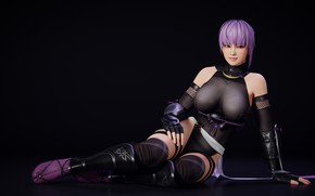 Picture chest, look, girl, Tits, costume, fighter, Ayane, Dead or Alive