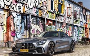 Picture GTR, Mercedes, AMG, Graffiti, 708D