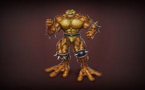 Picture Minimalism, Figure, Art, Toad, Battletoads, Toad, Pimple, ANDREY GORKOVENKO, by ANDREY GORKOVENKO, Battlletoad, Battle Toads, …