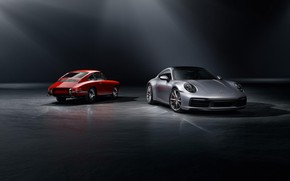 Picture machine, style, sports, generation, Porsche 911 Carrera S, 992, 2019