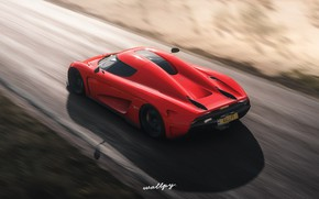 Picture Koenigsegg, Microsoft, game, 2018, Regera, Forza Horizon 4, by Wallpy