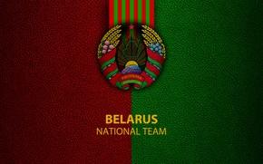 Picture wallpaper, sport, logo, football, National team, Belarus