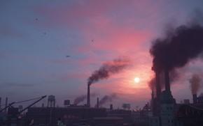 Picture city, day, the city of lost heaven, Mafia, Hangar 13, Mafia definitive edition, the atmosphere …
