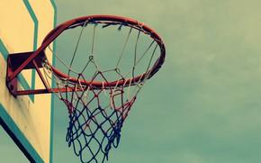 Picture Wallpaper, Grid, Basketball hoop