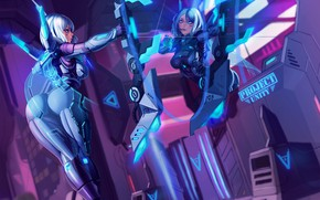 Picture Girl, Figure, The game, Girl, Art, League of Legends, Ashe, LOL, Fanart, Characters, Archer, Game …