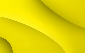 Picture yellow, background, curves, form, yellow, fon