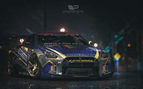 Picture Auto, Machine, Nissan, GT-R, Rendering, Nissan GT-R, Polischuk Who Stayed, by Kal'yan Polischuk, Nissan GT-R ...