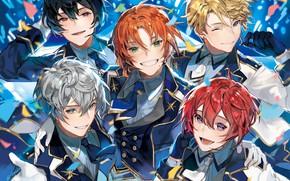 Picture Knights, Ensemble Stars!, Tsukinaga Leo, Sakuma Ritsu, Sena Izumi, Chyoellll, Narukami Arashi, Suou Tsukasa