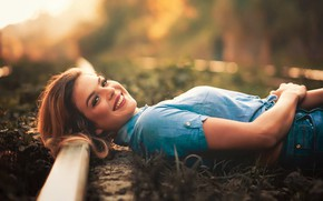 Picture look, girl, light, pose, smile, lies, Sérgio Pinheiro, Wanessa