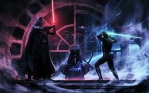 Picture Darth Vader, Jedi, Darth Vader, lightsaber, Sith, lightsaber, jedi, Luke Skywalker, sith, Luke Skywalker, Darth …