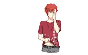 Picture background, white background, guy, Singing Prince, Uta no Prince-sama