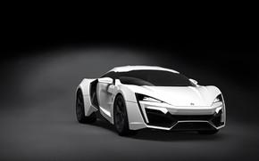 Picture 2013, sports coupe, dark gray background, super Kar, Lykan Hypersport, W Motors, W Motors Lykan …