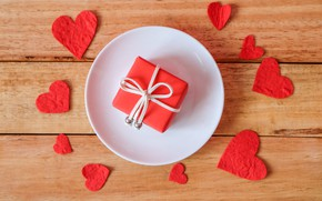 Picture gift, hearts, Holiday, Valentine's day