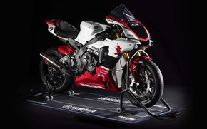 Picture motorcycle, bike, Yamaha, YZF-R1, 2019, GYTR