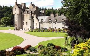 Picture summer, castle, garden, Scotland, Scotland, Moray, Ballindalloch Castle