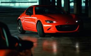 Picture orange, Parking, Mazda, Targa, 30th Anniversary Edition, 2019, MX-5 RF