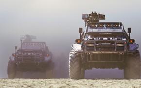 Picture Auto, Dust, Machine, SUV, Rendering, Concept Art, Weapons, Transport, War Machine, Transport & Vehicles, URBAN …