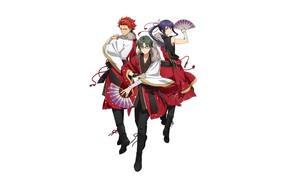 Picture Akatsuki, Ensemble Stars!, Official Art, Kanzaki Souma, david production, Hasumi Keito, Kiryuu Kuro