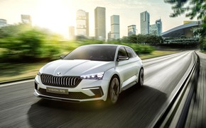 Picture speed, 2018, Skoda, Vision RS
