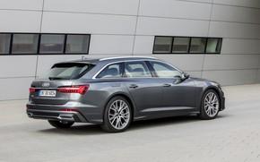 Picture wall, Audi, 2018, universal, dark gray, A6 Avant