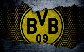 Picture wallpaper, sport, logo, football, Borussia Dortmund