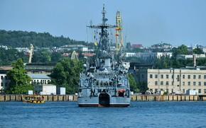 Picture sea, feed, Sevastopol, minesweeper, Zheleznyakov