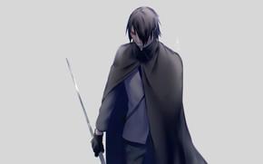 Picture sword, Naruto, Naruto, Sasuke Uchiha