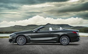 Picture BMW, profile, convertible, xDrive, G14, 8-series, 2019, Eight, M850i Convertible